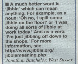Jibble mentioned in the London Metro